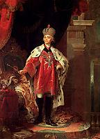 Paul I, 1800, borovikovsky