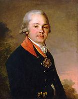 Portrait of Alexander Dmitrievich Arseniev, 1797, borovikovsky
