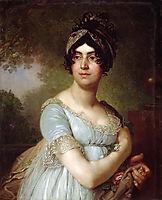Portrait of DariaSemyonovnaBaratoff, borovikovsky