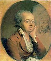Portrait of Dmitry Levitzky, 1796, borovikovsky