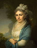 Portrait of E. I. Nekludova, 1798, borovikovsky