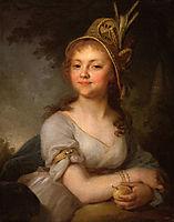 Portrait of E. N. Arsenyeva, 1796, borovikovsky