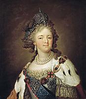 Portrait of Empress Maria Fyodorovna, borovikovsky