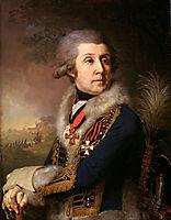Portrait of F. A. Borovsky, 1799, borovikovsky