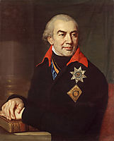 Portrait G.S. Volokonsky, 1806, borovikovsky