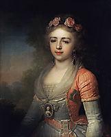 Portrait of Grand Duchess Alexandra, borovikovsky