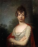 Portrait of Grand Duchess Maria Pavlovna, 1800, borovikovsky