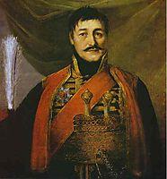 Portrait of Karadjordge, 1816, borovikovsky