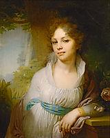Portrait of M.I.Lopukhina, 1797, borovikovsky
