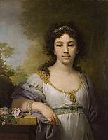 Portrait of a member of the Chidbov Family, 1798, borovikovsky