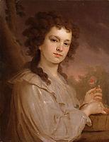 Portrait ofOlgaFilippovaKuzminichna, borovikovsky