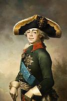 Portrait of Paul I, 1796, borovikovsky