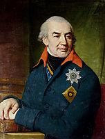 Portrait of Prince G S Volkonsky, borovikovsky
