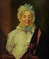 Portrait of Ye. A. Arkharova, 1820, borovikovsky