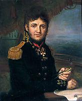 Portrait of Yuri F. Lisyansky, 1810, borovikovsky