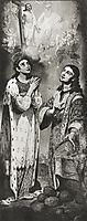 St.Tsaritsa Alexandra, 1815, borovikovsky