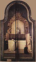 Adoration of the Magi, closed, 1510, bosch