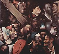 The Carrying of the Cross, 1480, bosch