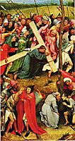 Christ Carrying the Cross, 1490, bosch