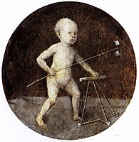 Christ Child with a Walking Frame, bosch
