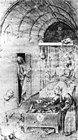 Death and the Miser, bosch