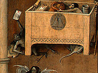 Death and the Miser (detail), 1490, bosch