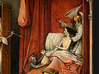 Death and the Miser (detail), bosch