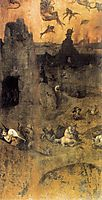 The Fall of the Rebel Angels, 1504, bosch