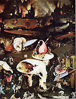 The Garden ofEarthly Delights  (detail), 1515, bosch