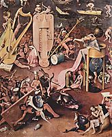 The Garden of Earthly Delights  (detail), 1515, bosch