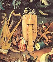 Garden of Earthly Delights, detail of right wing, 1500, bosch