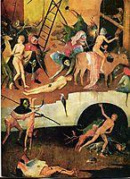 The Haywain Triptych (detail), bosch