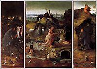 Hermit Saints Triptych, c.1505, bosch