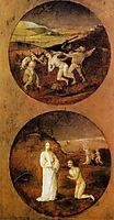 Mankind Beset by Devils (reverse of Noah panel), 1504, bosch