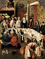 The Marriage Feast at Cana, bosch