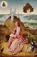 Saint John the Evangelist on Patmos, 1485, bosch