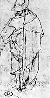 Sketch of a man, bosch