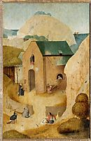 St.Jamesand theMagicianHermogenes, bosch