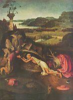 St. Jerome Praying, 1500, bosch