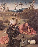 St. John the Baptist in Meditation, 1499, bosch