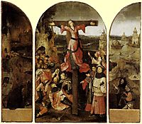 St. Liberata Triptych, 1504, bosch