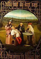 The Stone Operation / The Extraction of the Stone Madness / The Cure of Folly, bosch