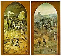 Temptation of Saint Anthony, outer wings of the triptych, 14, bosch