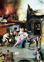 Temptation of St. Anthony (detail), bosch