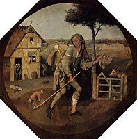 The Vagabond (The Prodigal Son), 1516, bosch