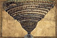 The Abyss of Hell, 1480, botticelli