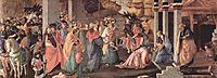 Adoration of the Magi, 1467, botticelli