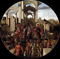 Adoration of the Magi, 1470-75, botticelli