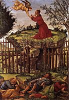 Agony in the Garden, 1500, botticelli