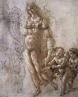 Allegory of Abundance, 1480-85, botticelli